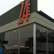 24 Diner Exterior