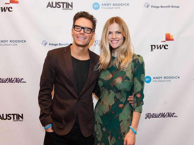 Andry Roddick Foundation Opportunity Matters Luncheon Hotel Van Zandt April 2016 Bobby Bones Brooklyn Decker