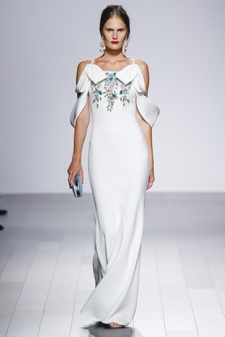 Badgley Mischka spring 2018 look 23