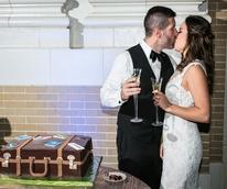 Monica Kitt Wedding, grooms cake