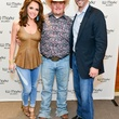 11 Joanna Marks, from left, Jake Worthington and Brad Marks at the Jake Worthington at IW Marks event June 2014