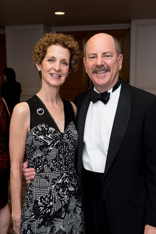 46 Betsy and Ed Schreiber at the Jewish Community Center Children's Scholarship Ball March 2015