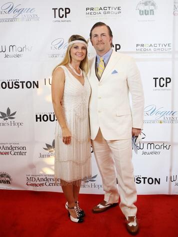 14 Becky and Shane Bayless at Hope Masquerade for a Cure Gala November 2013