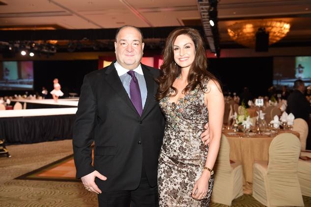 Nora's Home Gala 2015 Bashar and Brigitte Kalai