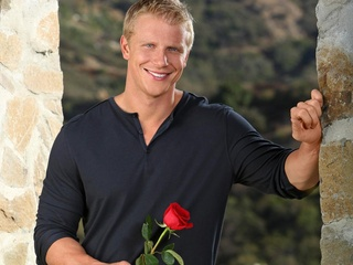 The Bachelor, Sean Lowe, January 2013, with rose