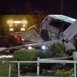 3 Tom Peacock Cadillac crash and fire May 2014