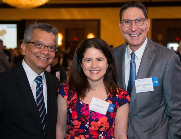 Kinder Institute Luncheon 5/16 David Ruiz, Lisa Helfman, Scott McClelland