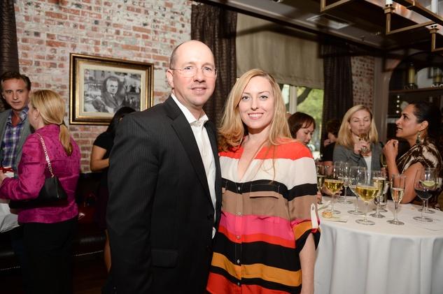 6 Chris and Audra Stevenson at The Thread Alliance Blue Plate Special kick off April 2015