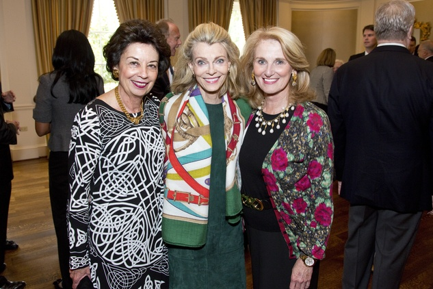 7 Kathy Goosen, from left, Alice Burguieres and Denise Monteleone at the M.D. Anderson VEPS luncheon March 2014