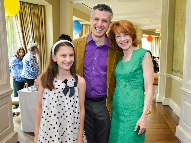 10 Houston Symphony children's fashion show April 2013 Helen Lykos, Robert Franz, and April Lykos