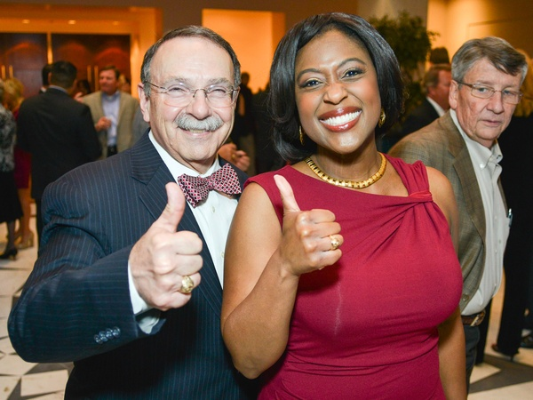 R.C. Slocum dinner, March 2013, Dr. Bowen Loftin, Sharron Melton