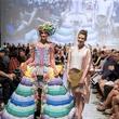 Houston, MFAH Fashion Fusion 2017, May 2017, Kyndall Bollmeyer with model