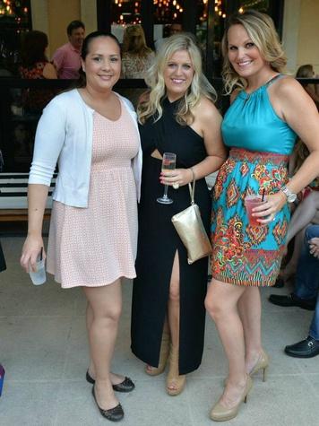Sara Marques, Emily Winkler, Lauren Ives, LPJC Summer Event