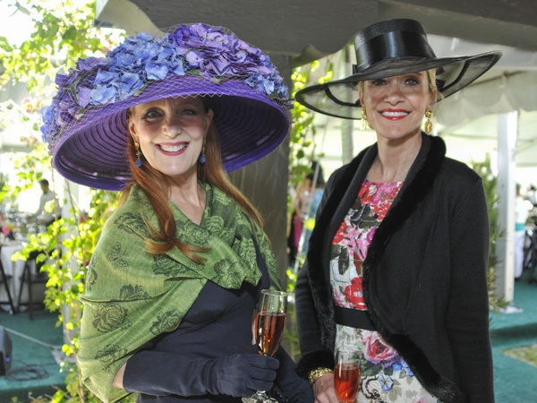 01, Hats in the Park, March 2013, Gracie Cavnar, Jana Arnoldy