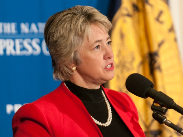 Annise Parker at National Press Club in Washington D.C. December 2013