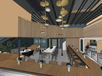 Heugel and Yu reveals plans to open an all-day cafe in Montrose