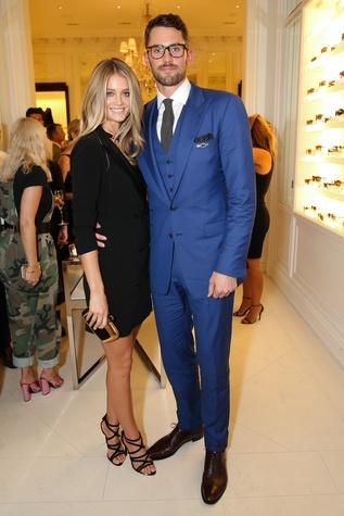 Kate Bock, Kevin Love at Ralph Lauren runway show