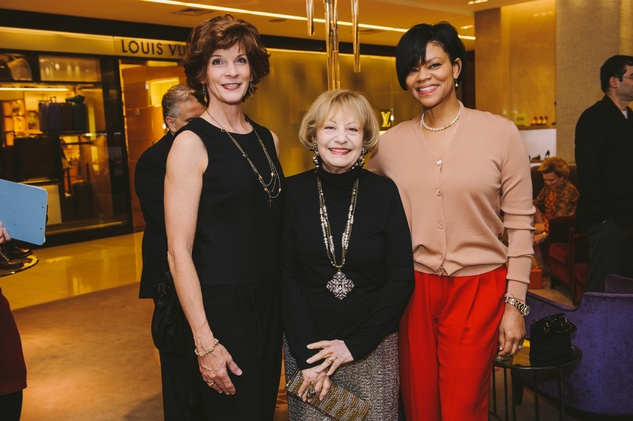 Mary Williams, from left, Kay King and Suzette Brimmer at the Passion for Fashion kickoff December 2013