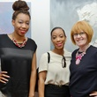 15. Alexia Deshields, from left, Kirstin Drenon and Joann Klein at the Hanh Tran Gallery opening June 2014