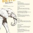 Brave Kitchen Project's First Pop Up Dinner Service MENU