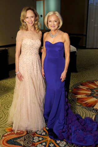 Houston, Winter Ball Women of Distinction, Feb 2017, Susan Sarofim, Jo Furr
