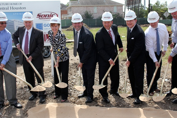 Momentum Audi Groundbreaking, Jared Lang &amp; Associates, June 2012