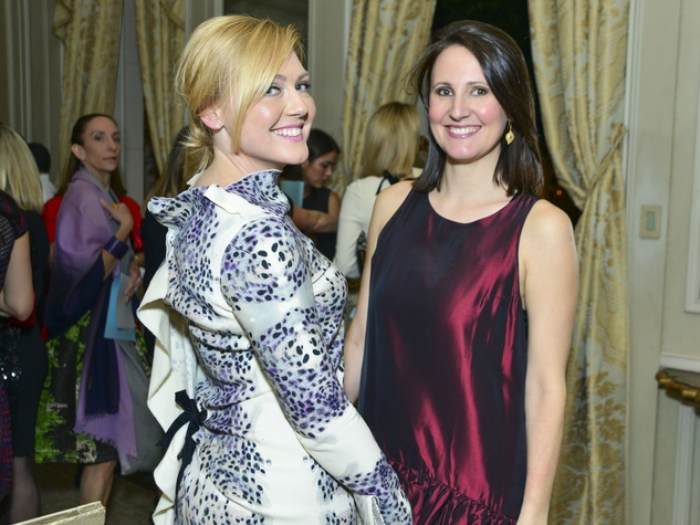 9 Caroline Starry LeBlanc, left, and Kate Stukenberg at CAM's Another Great Night November 2013