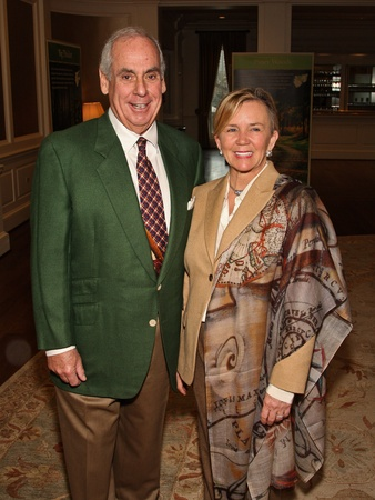 Wilderness Houston luncheon, February 2013, John Daugherty, Debbie Daugherty