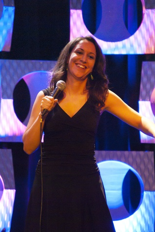 Austin Photo Set: News_moontower comedy_john mulaney_april 2012_rachel feinstein