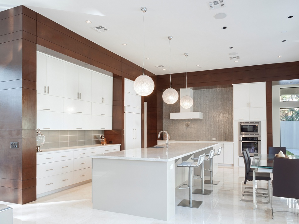 Houston Modern Home Tour September 2014 821 Bunker Hill 2Scale Architects kitchen