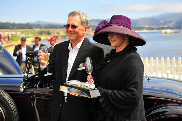 News, Shelby, Pebble Beach Concours d'Elegance,  Jim and Evelyn Fasnacht, August 2014