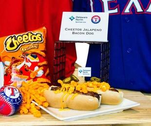 Rangers ballpark food