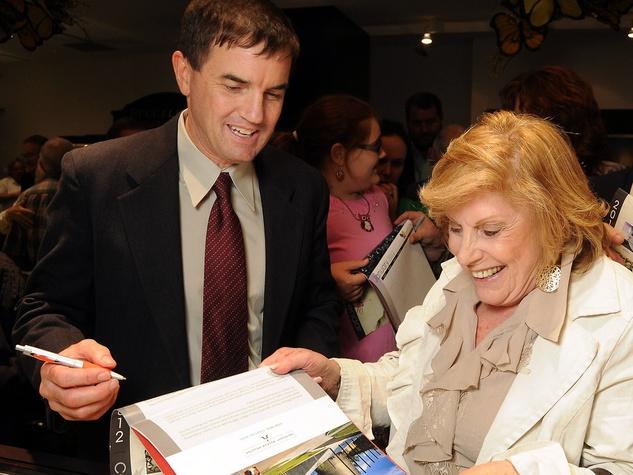 News_Holocaust Museum_Butterfly event_October 2011_Rex Walheim_Ruth Steinfeld