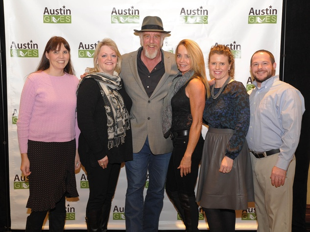 Austin Gives' 3rd GeneroCity Awards EzCorp Ray Benson 626