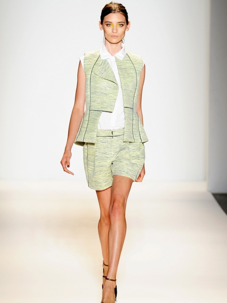 Clifford, Fashion Week spring 2013, Sunday, Sept. 9, 2012, Lela Rose, shorts and jacket