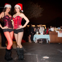 News_Don't Stop Believing party_December 2011_Cynthia Duran_Tyler Berger
