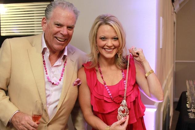 Komen pink party John Cullen, Christie Barany