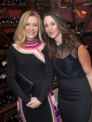28 Katie Brass, left, and Amy Zadok at Zadok's F.P. Journe dinner November 2013
