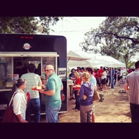 La Barbecue trailer in Austin, TX.