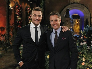 Chris Soules and Chris Harrison of ABC's The Bachelor