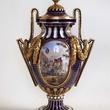 Houghton Hall MFAH Sevres - Blue Nouveau Vase