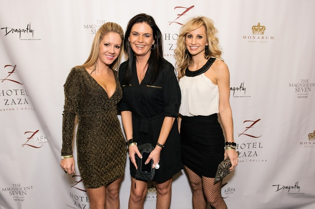 News_shelby_Hotel ZaZa New Year's Eve_December 2013_Sam Smiles_Michelle Zimmerman_Stacie Phillips