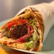 Kebabalicious falafel wrap Austin restuarant