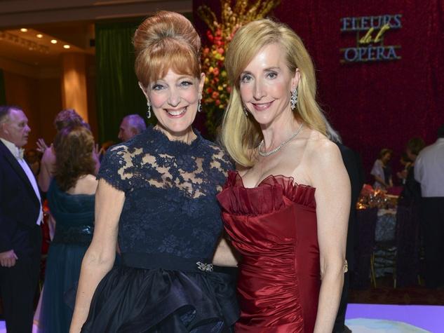 16 Gracie Cavnar, left, and Trisha Dewhurst at the Opera Ball April 2014
