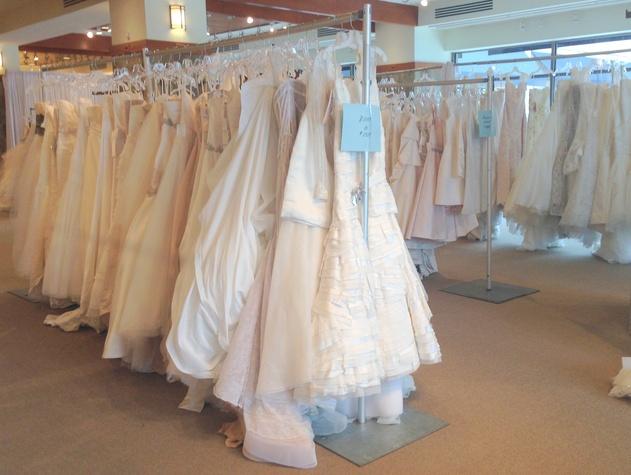 Joan Pillow bridal sample sale 7