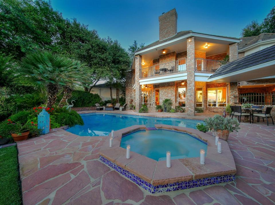 4 Stunning San Antonio Homes That Boast Fabulous Pools Culturemap San Antonio