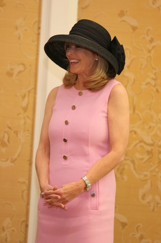 6 Laura Sweeney at Hats Off to Mothers luncheon March 2015