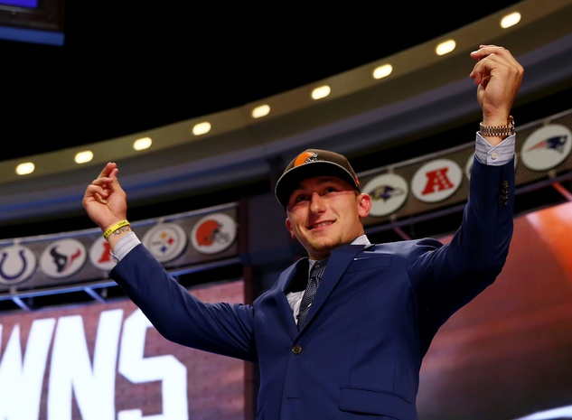 Johnny Manziel draft