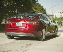 Tesla Model S electric car