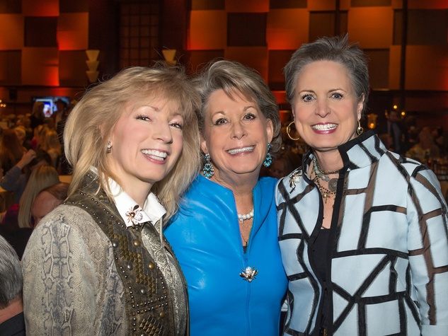 Trailblazer Awards, Feb. 2016, Patt Mann Phillips, Paula Robinson, Sharleen Walkoviak